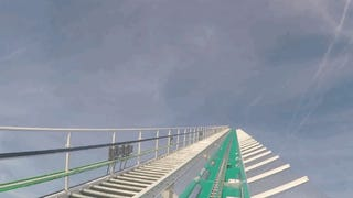 Baja a 153Km/h por esta gigantesca montaña rusa de 100 metros de altura