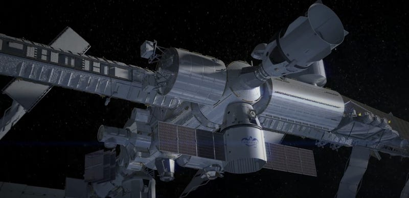 The new SpaceX Dragon V2