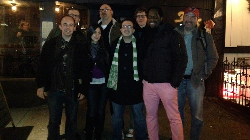 Here's (Most Of) Team Kotaku Reunited In New York City