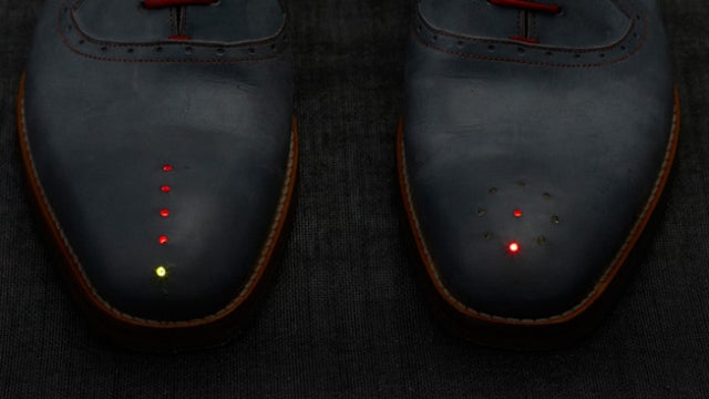 You'd Never Get Lost With a Pair of These GPS Shoes
