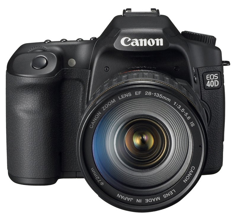 Canon EOS 40D Fires 6.5 Frames Per Second at 10.1MP