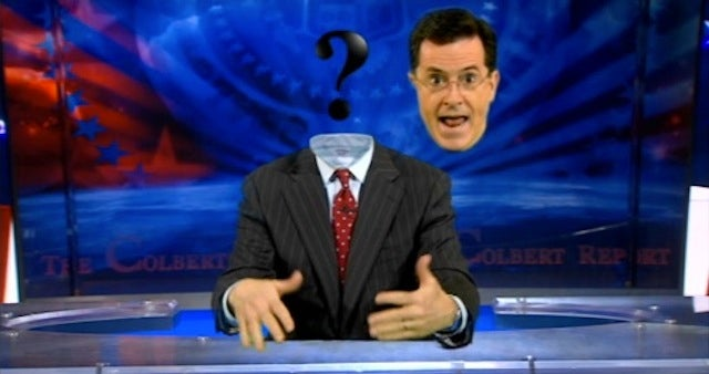 "Stephen Colbert Addresses Rumors of ""Anonymous"" Hacking"
