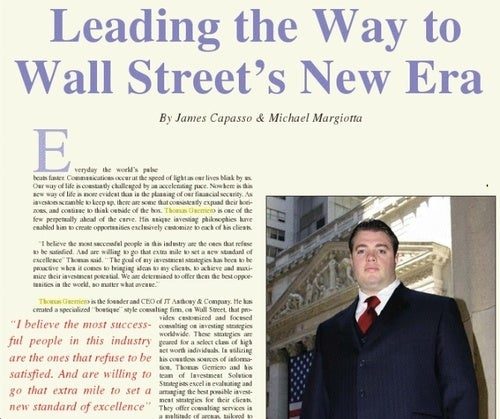 On Wall Street, You Must Tolerate Your Boss's Cock