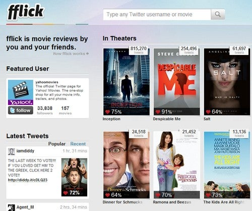 Fflick Harnesses Twitter for Crowdsourced Movie Reviews