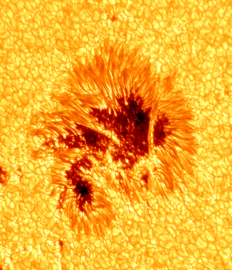 Behold the Glowing Glory of a Sunspot In Unprecedented Detail
