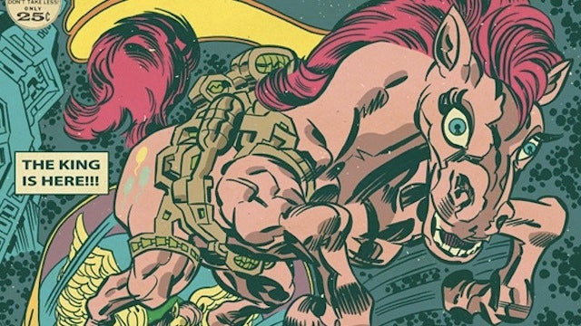 What if Jack Kirby made My Little Pony comics?