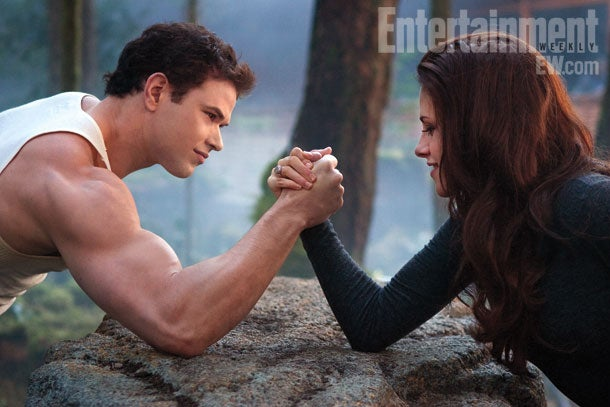 We've seen the first 7 minutes of the last Twilight movie!