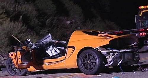 Lotus-Driving Father Nearly Kills Son In Street Race