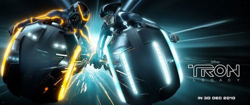 Cyber-Sparks Fly In New Tron Legacy Poster