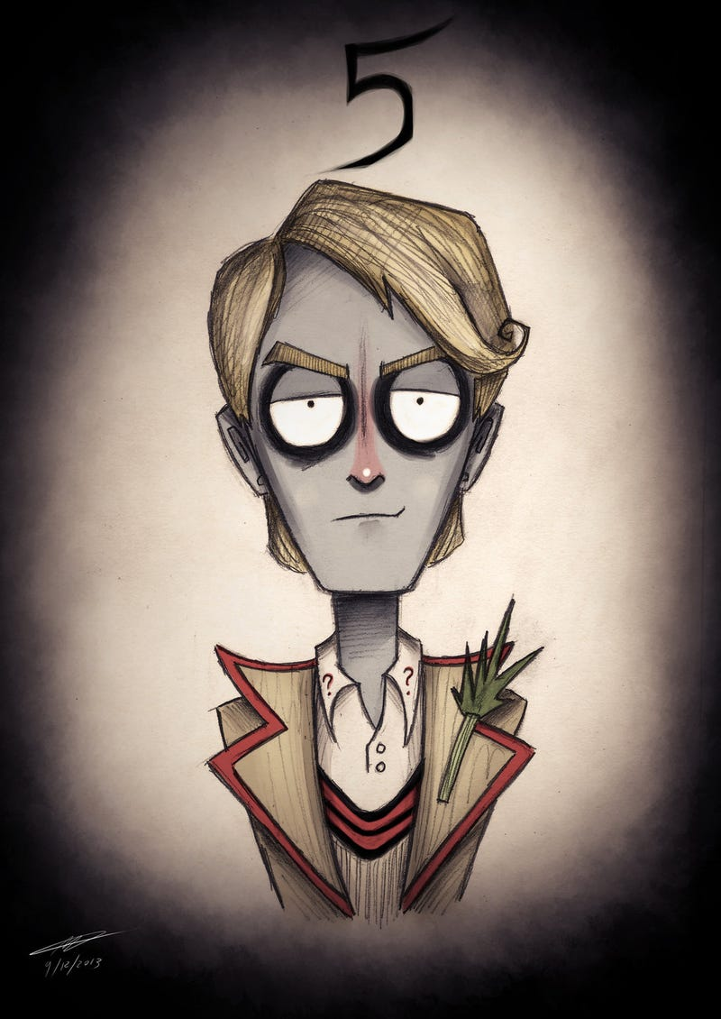 What if Tim Burton created Doctor Who?