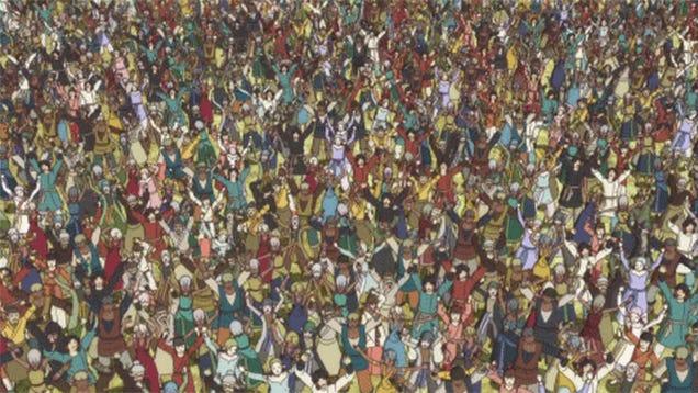 The Hardest Where's Waldo Imaginable