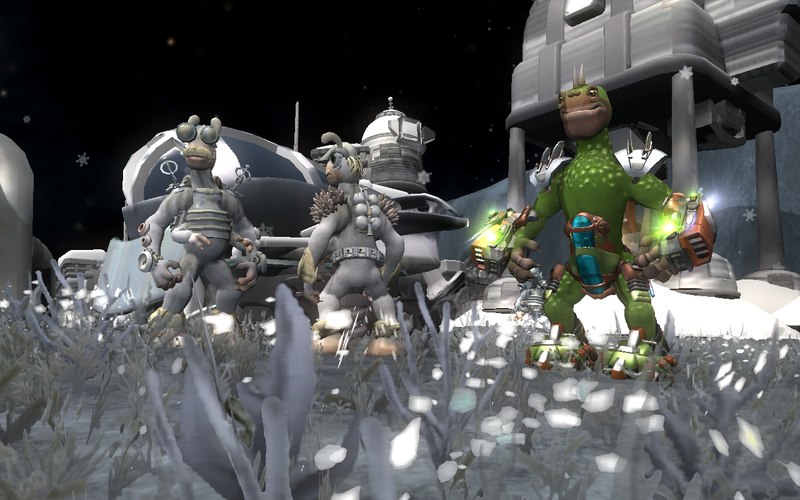 Oh, Captain, My Captain - New Spore Screens