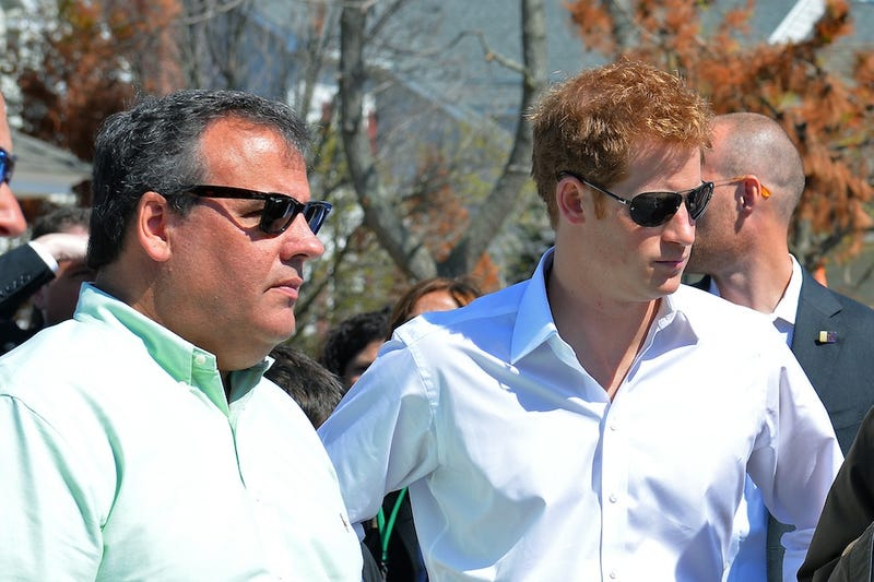 Prince Harry Rushes To Jersey Shore Scene of Hurricane Sandy Damage