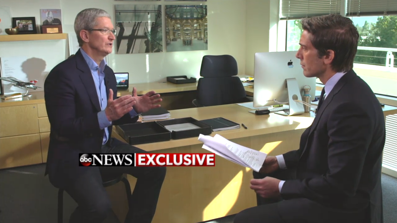 Tim Cook Won't Budge on the FBI's Demands, Says It Would Be 'Bad for America'