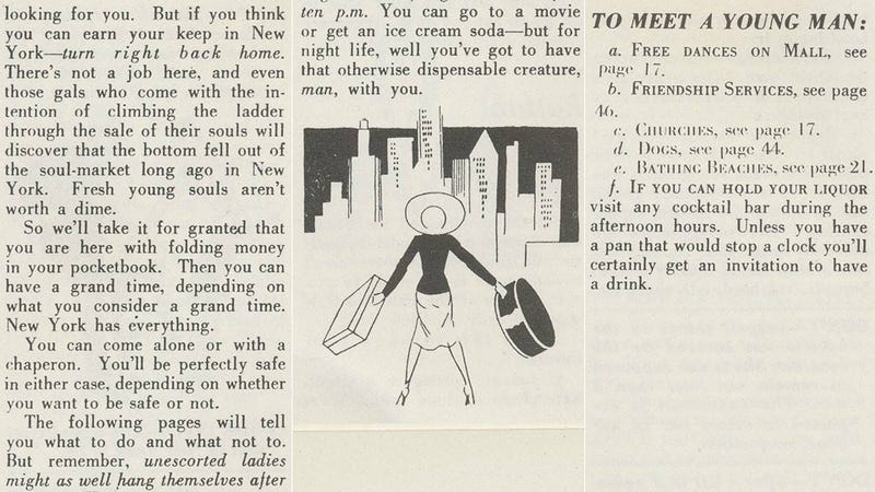 How to Be a Young Lady in 1939 Manhattan