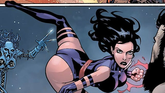 Psylocke's spread-eagle monologue gets the GIF treatment