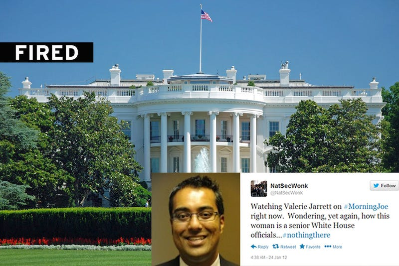 White House Official Loses Job Over Anonymous Twitter Account