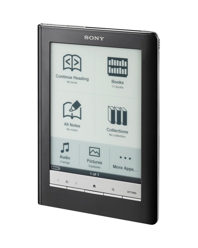 Sony's Pocket and Touch Ebook Readers Priced to Move; Promises Wireless Next