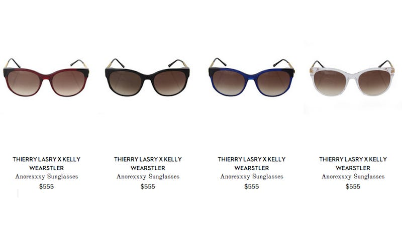 ​Kelly Wearstler Now Hawking Hideously Named 'Anorexxxy' Sunglasses