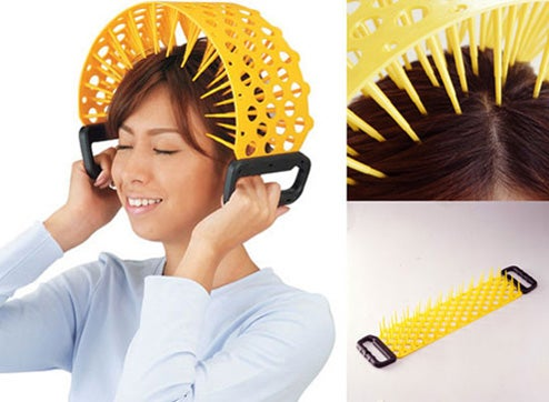 Head Kenzan: Massage Away Stress, Torture Prisoners With One Handy Device