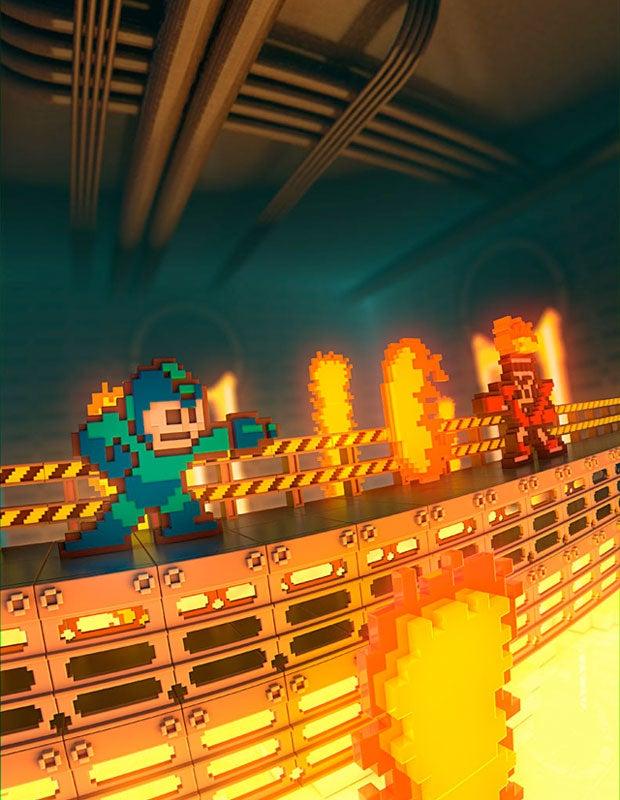 Mega Man Vs. Fireman