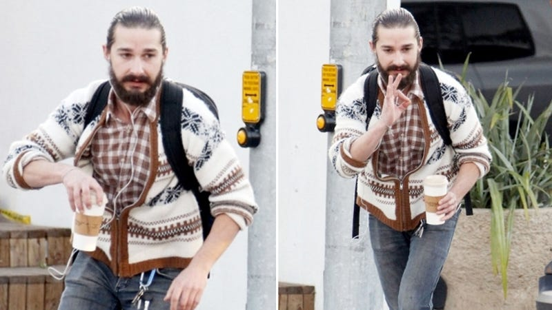 Shia LaBeouf Looks Like A Quality Dude And Very Handsome, People