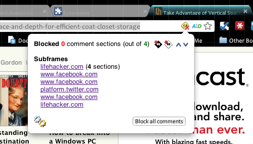 Comment Blocker Helps De-Troll the Internet for Chrome Users