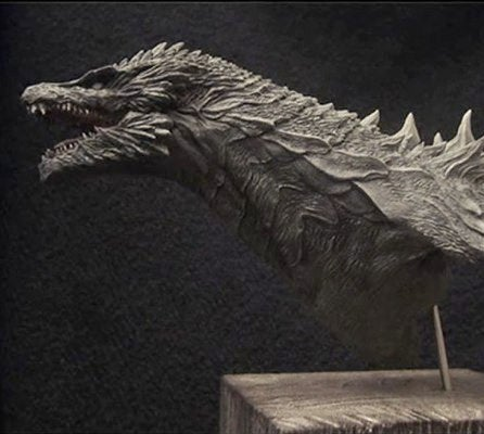 Has The Scaly Face Of The New Godzilla Surfaced?