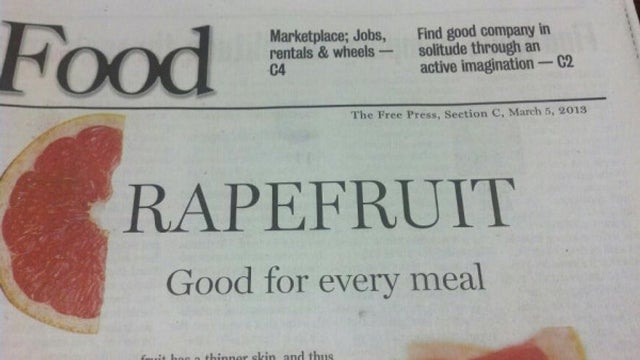 Is This the Worst Headline in Newspaper History?