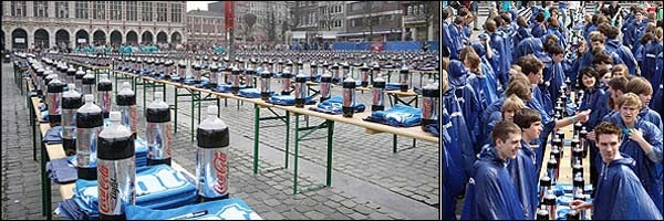 Belgian Students Break Mento-and-Coke World Record