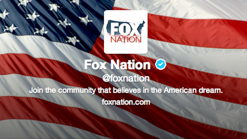 Fox Nation Twitter Feed A Celebration of Freedom, Boobs (Mostly Boobs)