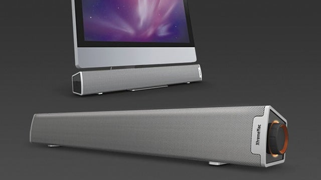 Camouflage Speaker Bar Blends in With Your iMac