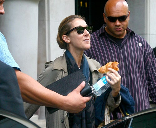 Celine Dion: French Treat, Fiji Water, Funny Face