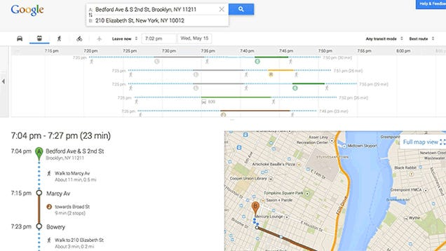 Everyone Can Get the New Google Maps Right Now