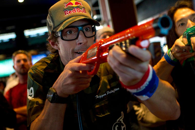 Big Buck Hunter Travis Pastrana Scares The Crap Out Of Us