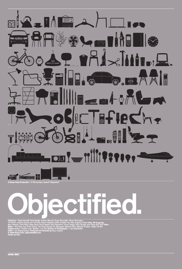 Objectified's Wonderful Gadget-Filled Movie Poster