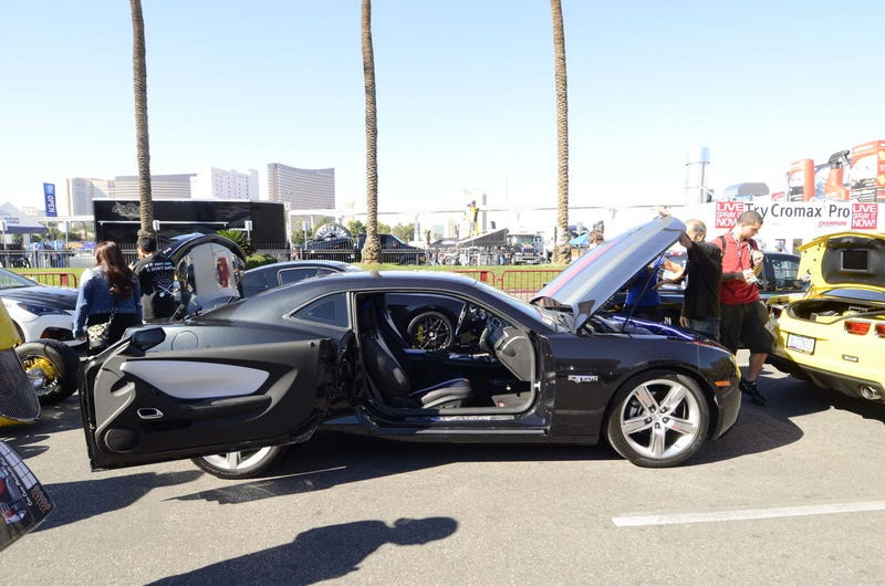 SEMA Camaro Doors Better Than Yours