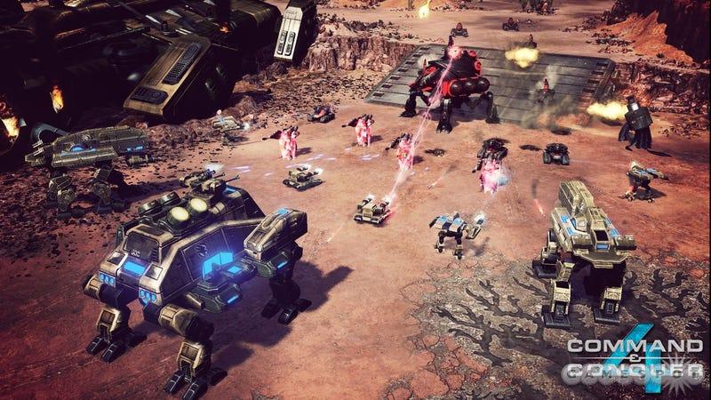 First Command & Conquer 4 Screenshot