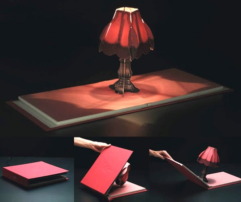 Book of Lights Pop-Up Lamp