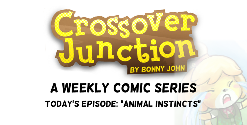 """This Week's Crossover Junction! """"Animal Instincts"""""""