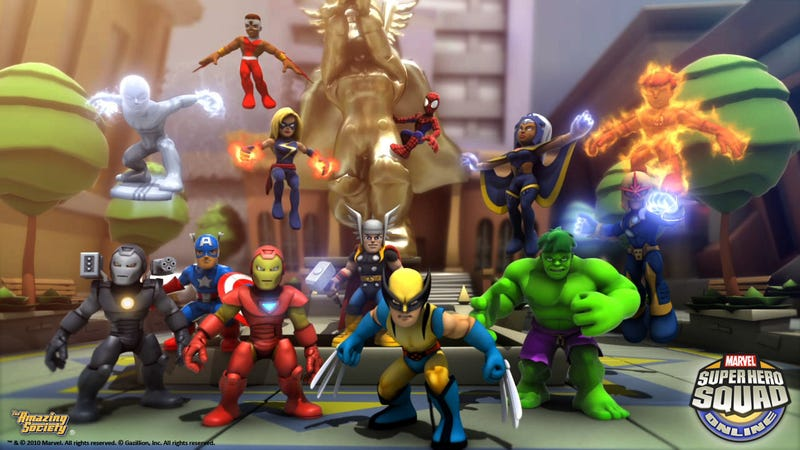 This Is Not The Marvel Super Hero MMO You've Been Waiting For