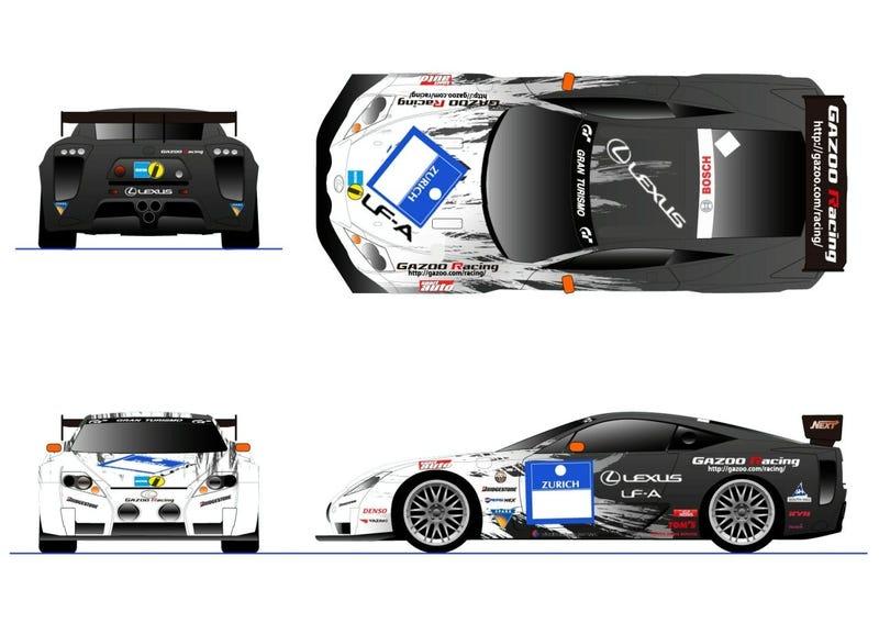Lexus LF-A Laps Fuji Speedway