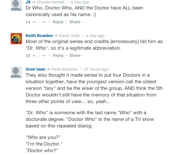 The Name of the Doctor: The Nerdliest of Aguments