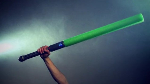 """Lasertag With Swords"" Means Pretend Jedi Can Finally Keep Score"