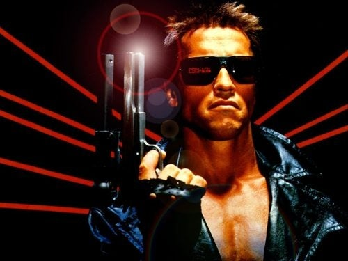 The next Terminator movie will be a 3-D animated sequel to the original Terminator. Will Arnie be back?