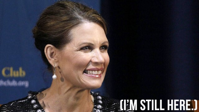 The Liberal Media Conspiracy Is Repressing Michele Bachmann, Says Michele Bachmann