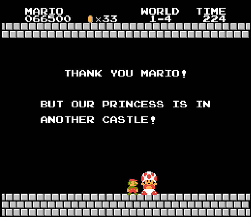 Weird Theory: Has Mario been lying to all of us?