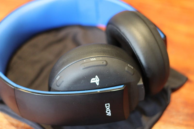 ​The PlayStation Gold Wireless Headset: Not Bad For A Hundred Bucks