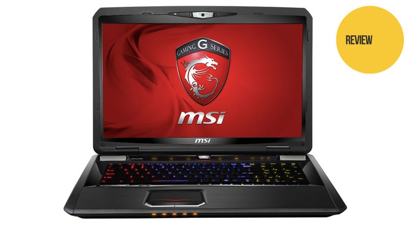 The MSi GT70 Gaming Laptop's Guts are Almost as Impressive as Its Keyboard