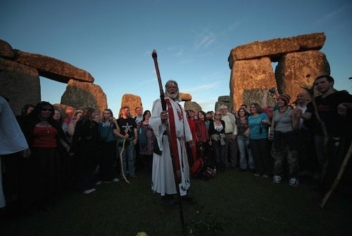 Check Out the Costumed Weirdos Partying at Stonehenge for the Summer Solstice